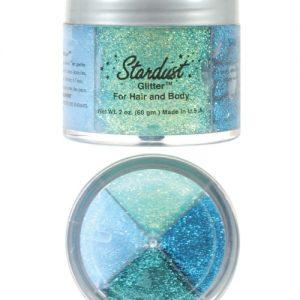 Stardust Body Glitter - glow in the dark - Mermaid