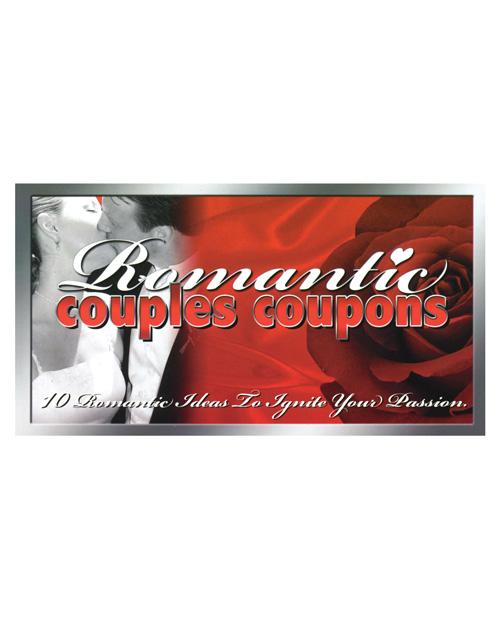 10 romantic couples coupon book
