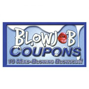 10 mind blowing blowjobs coupon book