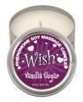 Wish pheromone soy massage candle - 4 oz vanilla