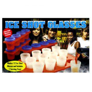 Ice shot glasses - set of 12