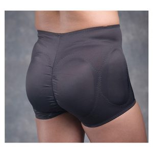 Transform hip & rear padded panty - plus size black