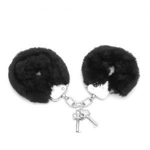 Love cuffs furry - black