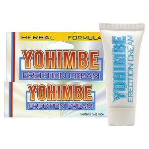 Yohimbe erection cream - .5 oz