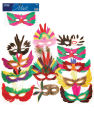 Party masks - asst. styles pack of 12
